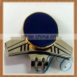 High quality plane shape blank metal golf ball marker for gifts