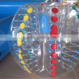 HI 2014 Popular and Crazy bumper ball ,human bubble ball,inflatable bubble football soccer ball