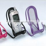 AN303 ANPHY Portable Cell Phone Holder Office Stationery Supply Organizer Mental Wire Mesh 7.1 x 8.7x 13.7cm