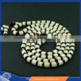Barrel shape Tibetan Buddhist MEDITATION 108 Beads Genuine BODHI SEED MALA For Compassion