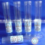 clear pvc square tube/ clear pvc tube/clear plastic test tubes