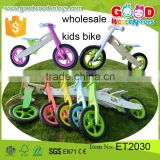 2015 Factory Direct Sale Ride On Car Toys Children Bike High Quality 12inch Wooden Kids Bike Wholesale Toy Direct from China