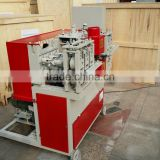 MC9202 Broom stick making machine for round wood stick / fast speed wooden pole machine 8-25m/min