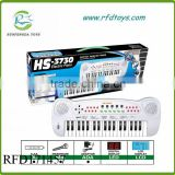 Kids multifuctional simulation toy kids HS3730B 37 keys electronic piano organ with microphone&charger