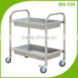 Stainless steel restaurant dish collection trolley BN-T25                                                                         Quality Choice