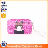 China Factory Fashion Digital Print Small Pvc Leather Makeup Bag Pvc Cosmetic Bag With Mirror