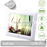 8 inch digital photo frame Photo Display Digital Frame MP3 Video Player Electronic Photo Album