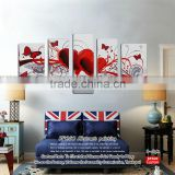 Personalized wall easy handmade scenery paintings