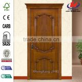 JHK-S03 Linyi Jinghai Products Factory Design Staining Teak /Ash Wood Wardrobe Interior Door