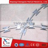from china manufacture Security Stainless Steel Galfan coated steel wire 0.5mm/razor barbed wire/stranded balancer                                                                                                         Supplier's Choice