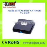 Quad core M8 Android 4.4 4K/2K OTT TV BOX