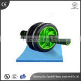 dual wheel exercise foam handle ab roller for wholesale                                                                         Quality Choice