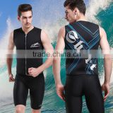 3mm Waterproof Sports Skins upper Wetsuit, Neoprene Diving, Snorkeling , upper Swimming and Surfing Wetsuits