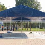 blue color PVC folding tent which can be used for outdoor tent party tent big event tent