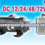 Motor compressor airconditioning for car electric truck cabin air conditioner tractor cab aircon