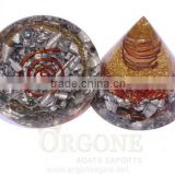 Red Jasper Orgone Energy Aluminium Layer Antenna With Crystal Point : Wholesale Red Jasper Orgone Product