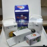 hot sale wash machine tin box with handle