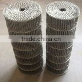 HOT dipped galvanized metal conveyor mesh belt manufacturing plant