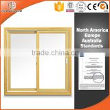 Beautiful picture wood clad aluminum sliding window for windows and doors customers                                                                                                         Supplier's Choice