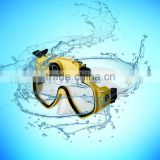 2014 newest 5mp 720P waterproof 30m diving underwater glasses hidden camera goggle camera, sport mask glasses camera 120degree