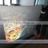 Rear projection foil/film for 3D holo display,meeting,Very suitable for shop window applications