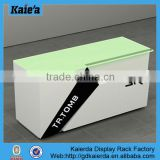 Beauty salon counter design/wooden furniture for cash counter register table