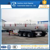 Alibaba 55m3 standard propane tanker trailer for sale manufacturer's price