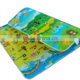 Custom kids outdoor play mats, cheap anti-slip rubber baby play mat,baby non-toxic play mat