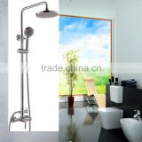 Popular SUS 304 wall mounted with shower faucet set                                                                                                         Supplier's Choice