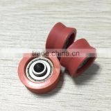High quality deep groove ball bearing with nylon cover sliding gate roller                                                                         Quality Choice