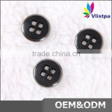 Wholesale high quality 4 holes metal sewing button for shirts
