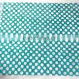 RTHCF-21 Designer Border Polka Dots Export Quality fabric Wooden block printed cotton Indian Traditional manufacturer Suppliers