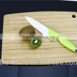 6 inch Chef Knife with White Ceramic Blade and New Designed PP+TPR Handle Ceramic Knife KC1301C