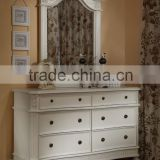 6 drawer wooden dresser white dresser with mirror bedroom furniture manufacturer