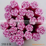 LNU-2019 Polymer clay canes for nails & fruit canes nail tips decoration