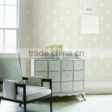 new Non-woven wallpaper/beautiful wallpaper/wall paper light color wallper                                                                                                         Supplier's Choice