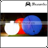 Hottest led inflatable sky helium balloon, lighting inflatable large balloons for events