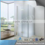 The Semi-Frameless Bifold Door acrylic shower door EX-215
