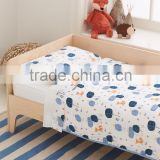 Hot Sell Baby Bedding Set, 100% cotton muslin baby bedding set