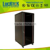 21U network server cabinet with mesh door Spring/Moon Lock