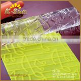Reposteria moldes Music notation Textured Acrylic Rolling Pin Embossed Fondant Rolling Pin Rolled Fondant Tools