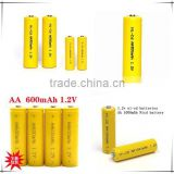 Rechargeable Nickel cadmium Rechargeable Battery Manufacturer with CE,ROHS,UL certificates