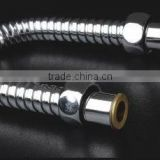stainless steel chrome plating showing hose