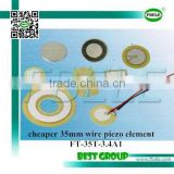 cheaper 35mm wire piezo element FT-35T-3.4A1
