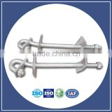 Various pig tail hook pigtail bolt of transmission line hardware hook bolt