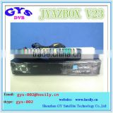 New arrival Jyazbox ultra hd v23 FTA receiver with JB200 8PSK Wifi iks sks for south america