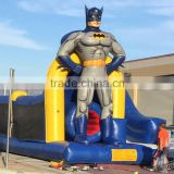 Batman cheap Inflatable Obstacle Course for sale /outdoor kids obstacle course equipment