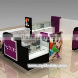Mall nice nail salon kiosk | nail bar kiosk design | manicure table with nail dust collector for sale