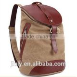 Fashion wholesale canvas export brand school bags