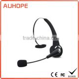 NFC one-touch-pair multi-point 5 hours talk time smart microphone single-side over-the-head talking headset wireless